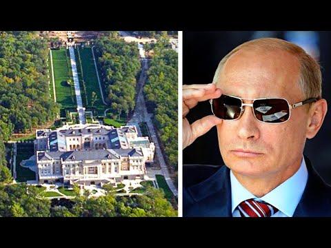 Inside Putin's Secret $1 Billion Mansion