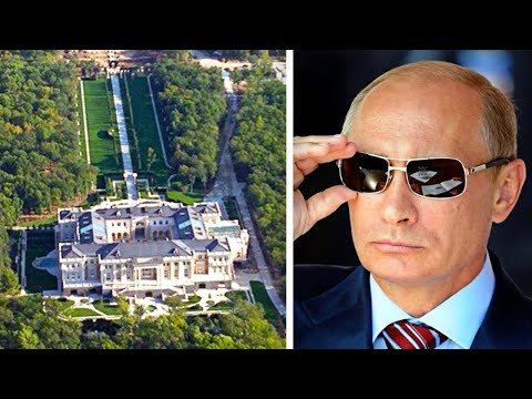 Inside Putin's Secret $1 Billion Mansion