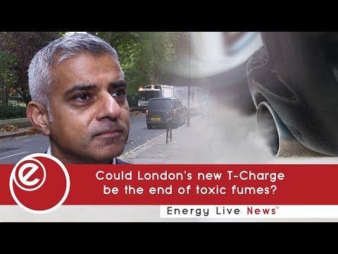 Could London's new T-Charge be the end of toxic fumes?