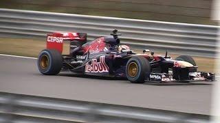 Italia a Zandvoort 2015 - Max Verstappen - Formula 1 Red Bull RB8
