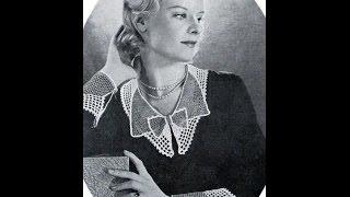 Воротники крючком. Ретро. Crochet collars. Retro