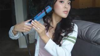 One of From Head To Toe's most viewed videos: Tutorial: How To Curl Hair with Flat Iron