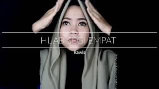 Tutorial Hijab Rawis Segi Empat