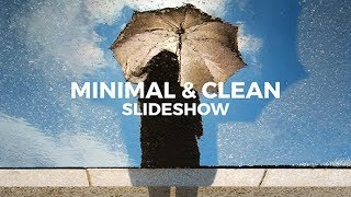 Minimal & Clean Slideshow 19940703 Videohive - Free After Effects Template