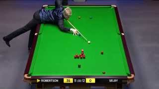Snooker 2014 W.C.Robertson V Selby (23) [HD]