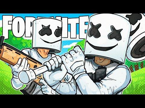 Keepin It Mello, As A Marshmello, With Some Marshmellos - Fortnite Battle Royale!
