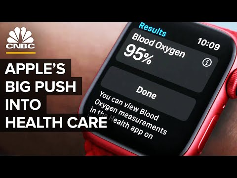 How Apple Plans To Become A Big Player In Health Care