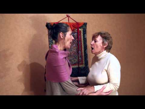 Liouma et Clarisse Chant de Gorge