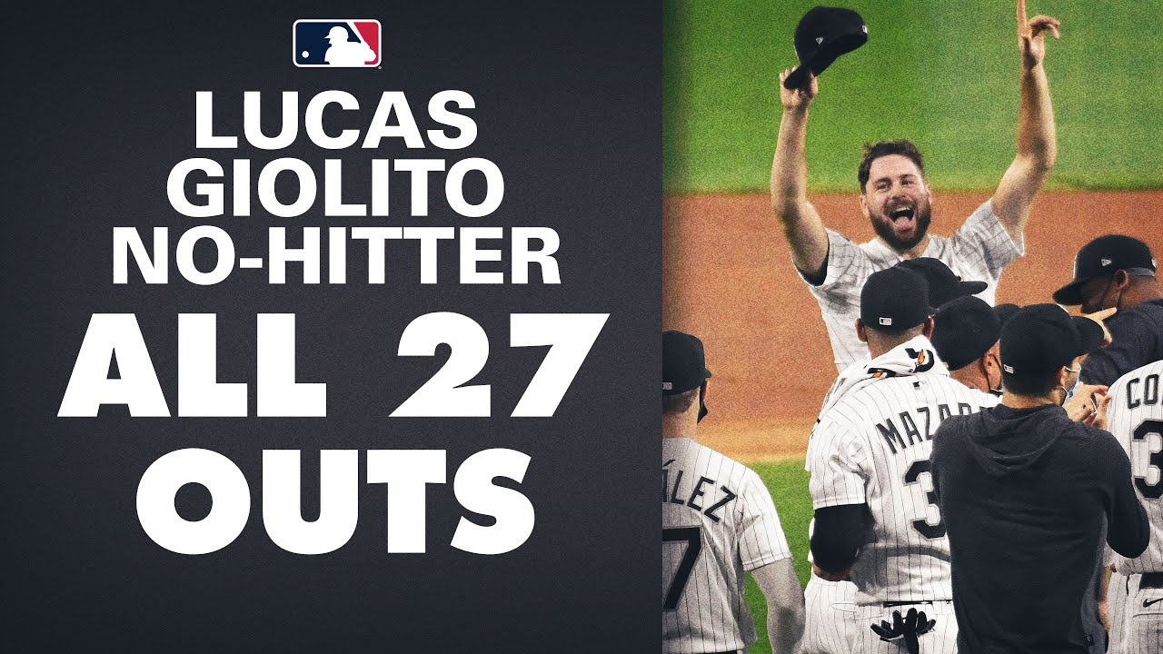 All 27 Outs from Lucas Giolito's epic no-hitter! (White Sox pitcher with 13 Ks too!)