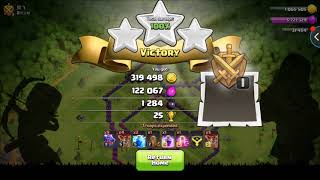 Clash of Clans: TH8 DE Farming and Trophy Pushing 2017