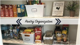 Pantry Organization// Clean with me// Collab with Leah Moore