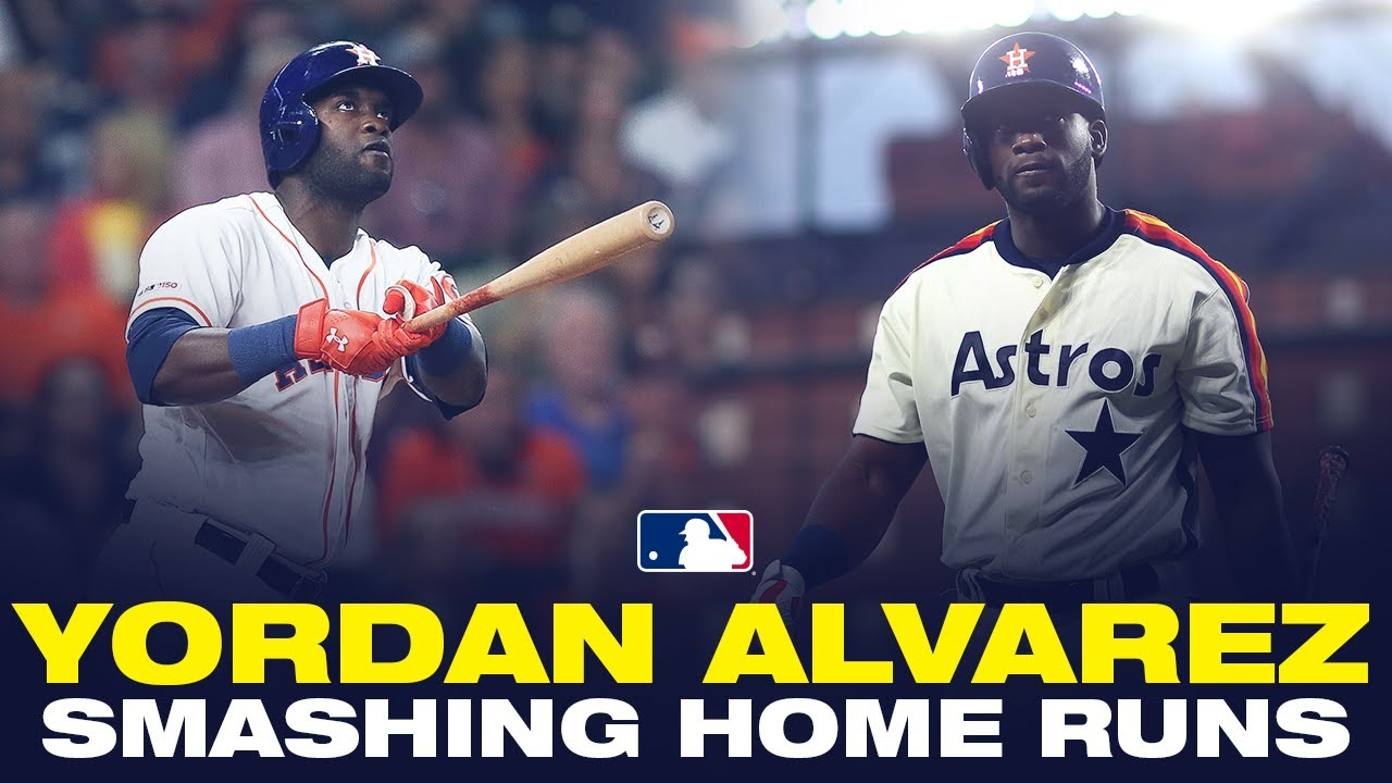 Astros' Yordan Alvarez OBLITERATING baseballs