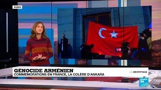 Génocide arménien : commémorations en France, la colère d'Ankara