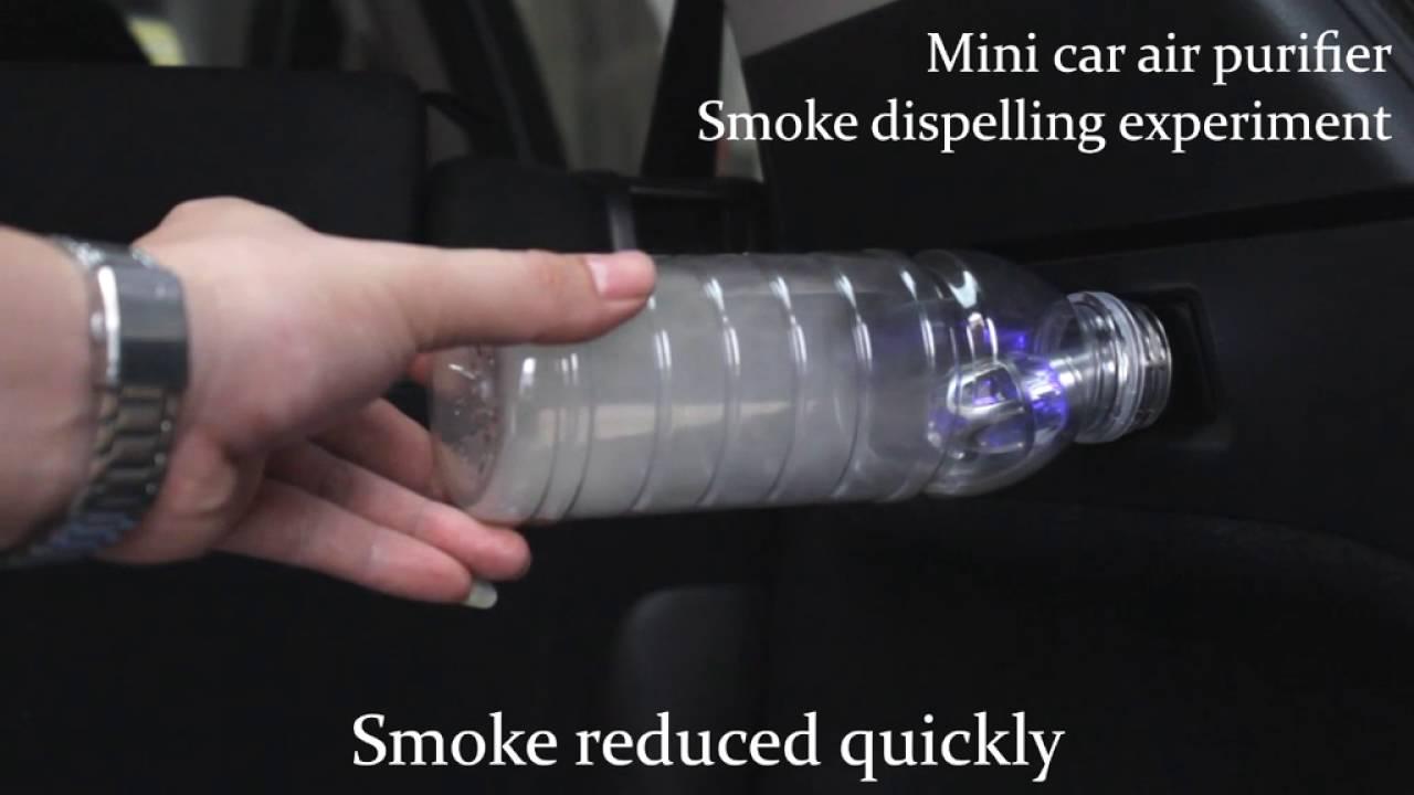 novapure ionic car air purifier filter youtube. Black Bedroom Furniture Sets. Home Design Ideas