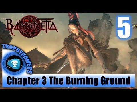 Bayonetta Remastered - Chapter 3 The Burning Ground - Full Game Walkthrough Part 5 Gameplay
