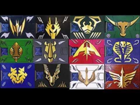 Kamen rider dragon knight all Weapons