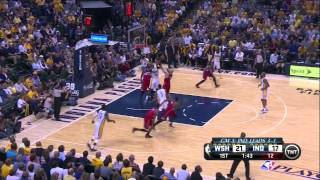 Wizards vs Pacers Game 5: Marcin Gortat Hammers Them
