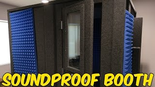 Building the Soundproof Booth