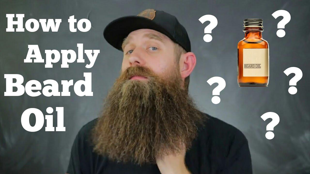 Basics - How to Apply Beard Oil! - YouTube