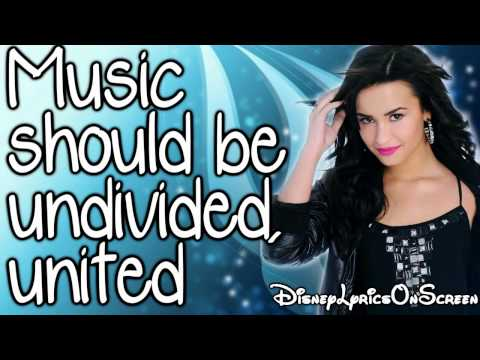 Camp Rock 2 - Can't Back Down (Lyrics On Screen) HD