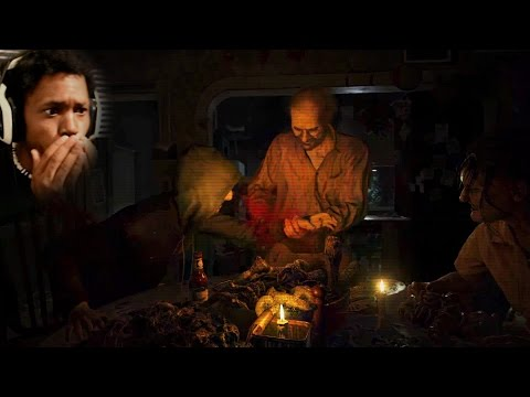 LOOK, I DON'T WANT TO EAT! THE BAKERS ARE INSANE   Resident Evil 7 Demo #2 (Twilight Version)