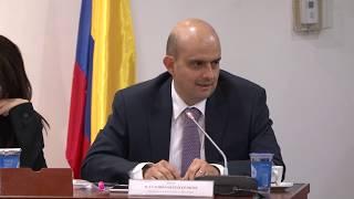 Vicesalud, Ivan Dario Gonzalez, en debate sobre los avances en la reconstrucción de Mocoa.