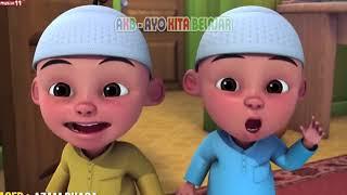 Upin Ipin Bersholawat Robbi Faj'al Mujtama'na, Lagu Anak Muslim Indonesia, Akb Ayo Kita Belajar