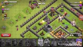 Clash of Clans angreifen mit allen Truppen gegen rh 10 gerusht + Legenden rh 9 Clan | Clash of Clans