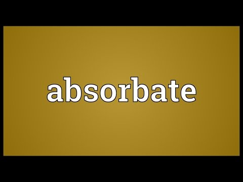 Header of absorbate