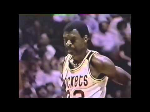 Calvin Murphy (29pts/10asts) vs Lakers, 1981 WC 1st Round game2, highlights