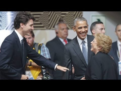 Justin Trudeau, Barack Obama attend APEC summit in Peru