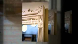 Antique Dresser/Mirror & Coat Rack Picture Frame