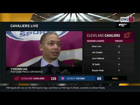 Tyronn Lue addresses minutes concern with LeBron James after Cleveland Cavaliers drubbing in Detroit