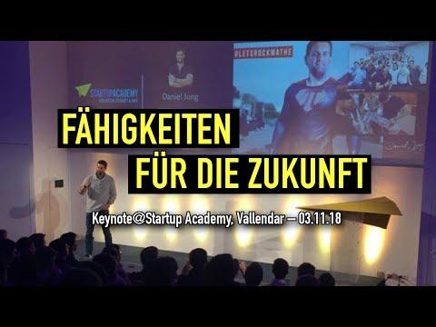 Fähigkeiten Für Die Zukunft   Keynote At