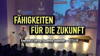 Fähigkeiten für die Zukunft | Keynote at