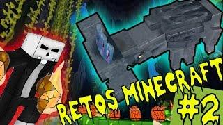 ELMATADOR VS HAMMERHEAD | DESESPERACIÓN, ARAÑAS CERDO Y MAS!!! |RETOS MINECRAFT #2