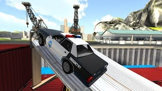 Police Car Drift Simulator | Car crashes guaranteed