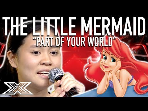 INCREDIBLE Little Mermaid Cover!   Part of Your World   X Factor Global