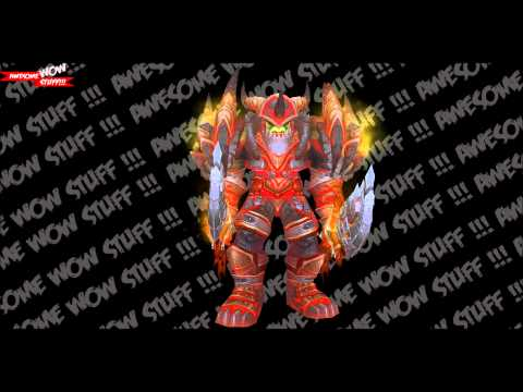 WoW Tier 13 - Warrior (Orc) Preview HD - YouTube