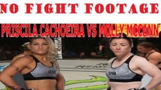 UFC FIGHT NIGHT LONDON: PRISICILA CACHOEIRA VS MOLLY MCCANN POST FIGHT ANALYSIS