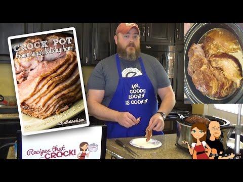 How to Cook Ham: Crock Pot Brown Sugar Holiday Ham Recipe