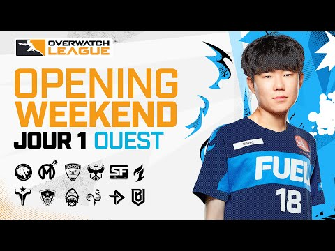 Overwatch League 2021 Saison | Opening Weekend | Jour 1 — Match 2 | LA GLADIATORS  vs  SF SHOCK