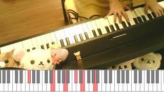 【ピアノ】まねきケチャ/ハリネズミの唄を弾いてみた【フル】