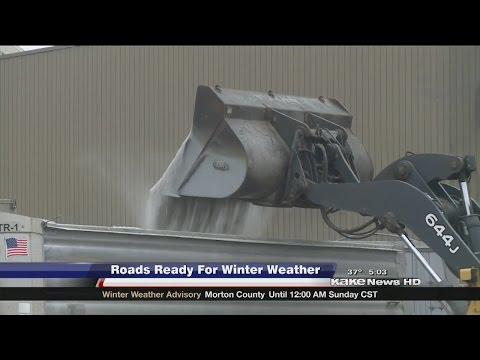Wichita crews prepare for latest round of winter weather
