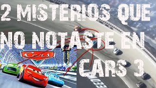 Lo que no viste en el trailer de CARS 3