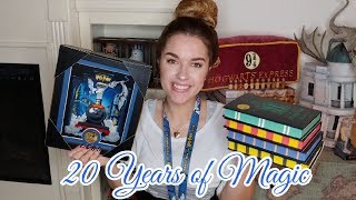 HARRY POTTER 20 YEARS OF MAGIC CELEBRATION COLLECTION