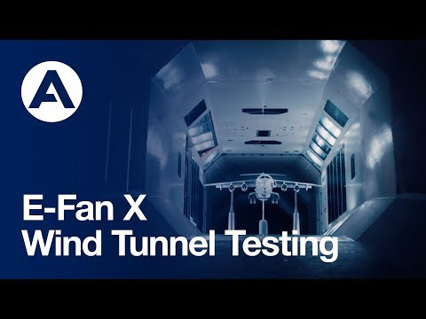 E-Fan X: Wind tunnel testing