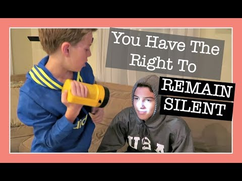 YOU HAVE THE RIGHT TO REMAIN SILENT 🙊 | Flippin' Katie