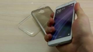 ОБЗОР: Ультратонкий Силиконовый Чехол-Накладка для Huawei Honor 4C Pro/ Y6 Pro