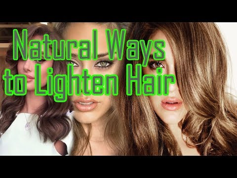how-to-natural-ways-to-lighten-hair-at-home-🍏